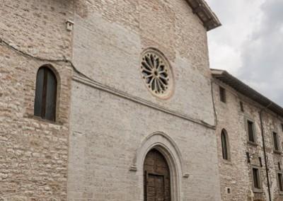 Costacciaro - chiesa san francesco facciata