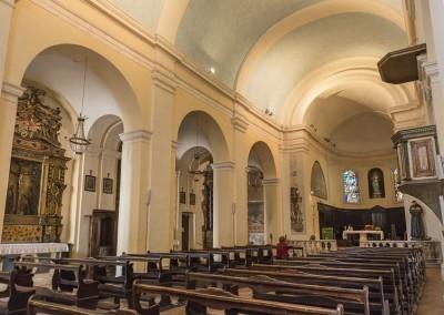 Costacciaro - chiesa san francesco interno