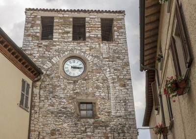 Costacciaro - torre civica orologio