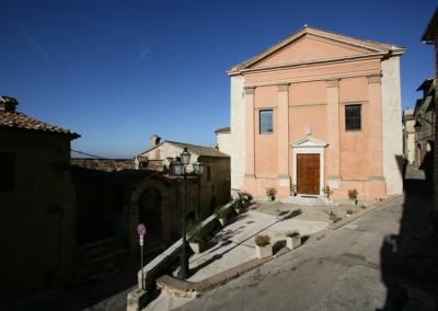 Fossato di Vico - Chiesa S Sebastiano