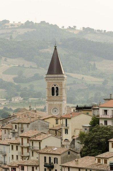 Gualdo Tadino - campanile
