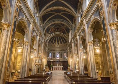 Gualdo Tadino - cattedrale interno