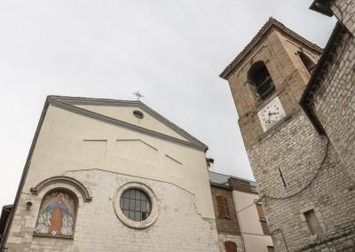 Gualdo Tadino - chiesa di santa maria dei raccomandati