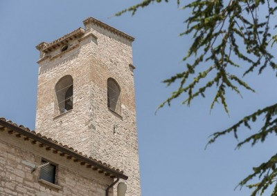 Gualdo Tadino - chiesa san facondino torre