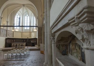 Gualdo Tadino - chiesa san francesco interno