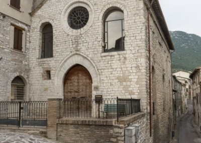 Gualdo Tadino - chiesa santa chiara