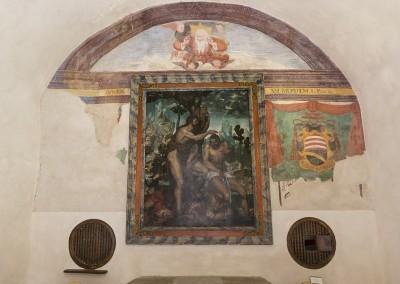 Gualdo Tadino - rocca flea cappella
