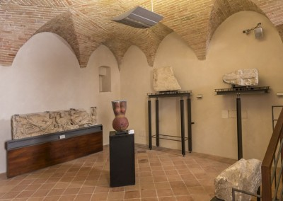 Gualdo Tadino - rocca flea museo