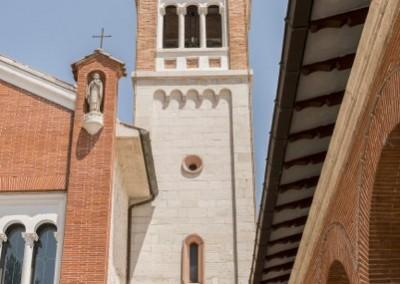 Gualdo Tadino - santuario madonna divino amore campanile