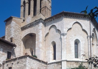 Gubbio - ChiesaSSecondo