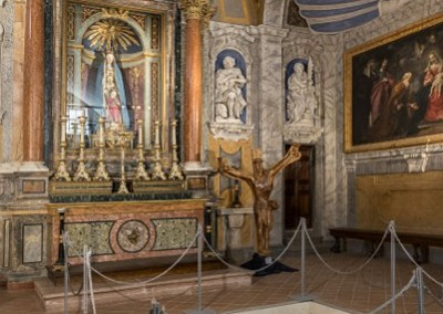 Gubbio - chiesasantamariadeilaiciinterno