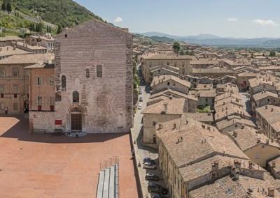 Gubbio - palazzocomunalepanorama