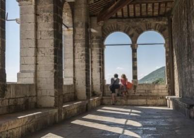 Gubbio - palazzodeiconsoliterrazza