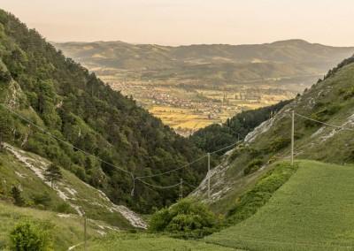 Gubbio - scorciovalle