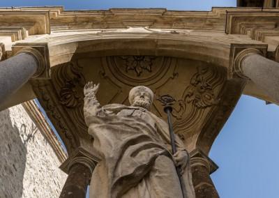 Gubbio - statuasantubaldo