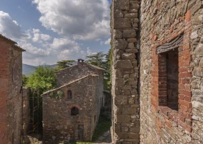 Lisciano Niccone - castello lisciano interno