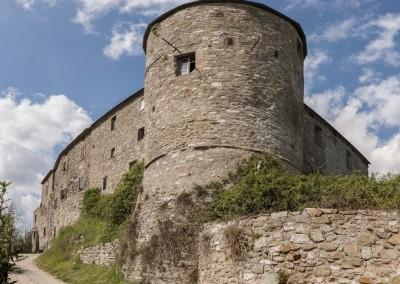 Lisciano Niccone - castello lisciano panoramica