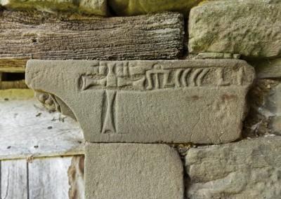 Lisciano Niccone - castello lisciano simboli