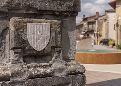 Lisciano Niccone - dettaglio piazza