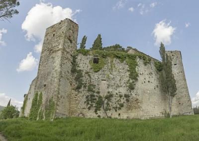 Lisciano Niccone - panoramica castello reschio