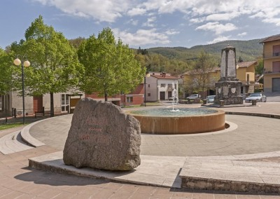Lisciano Niccone - piazza