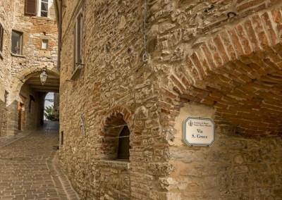 Monte Santa Maria Tiberina - archi e vie