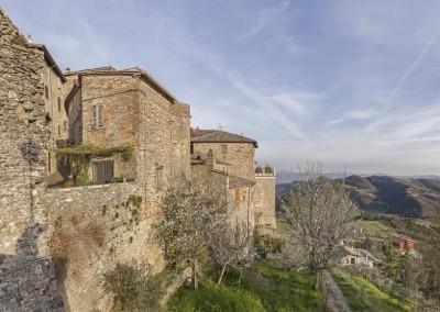 Monte Santa Maria Tiberina - lato porta santa maria