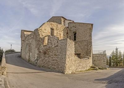 Monte Santa Maria Tiberina - resti palazzo