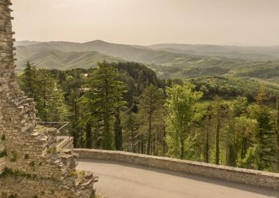 Monte Santa Maria Tiberina - terrazza