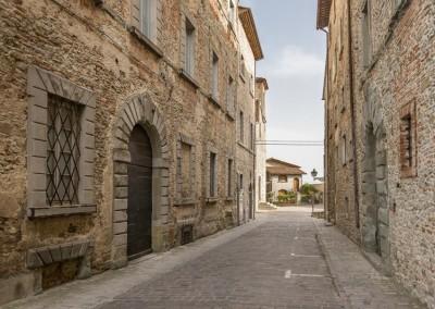 Monte Santa Maria Tiberina - via principale