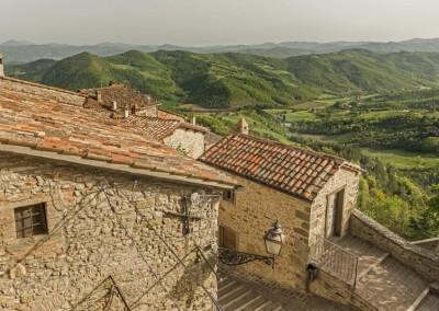Monte Santa Maria Tiberina - vista colline