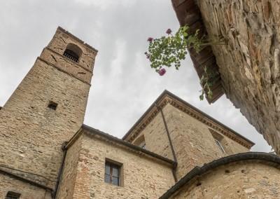 Montone - campanile collegiata