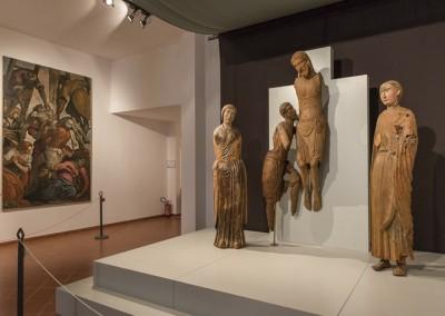 Montone - museo gruppo deposizione