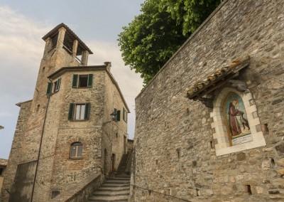 Montone - san francesco torre civica