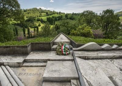 Pietralunga - monumento partigiani