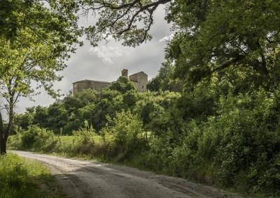Pietralunga - pieve de saddi percorso