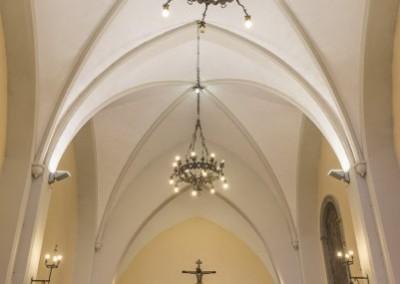 Pietralunga - pieve santa maria interno