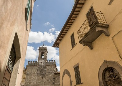 Pietralunga - verso palazzo dell orologio