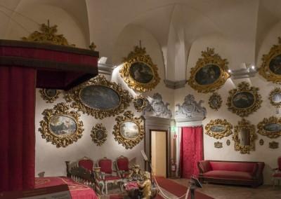 San Giustino - castello bufalini camera cardinale