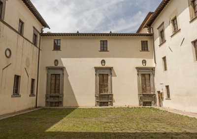 San Giustino - castello bufalini interno