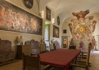 San Giustino - castello bufalini sala trono