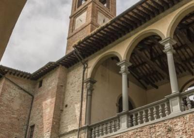San Giustino - castello bufalini scorcio campanile