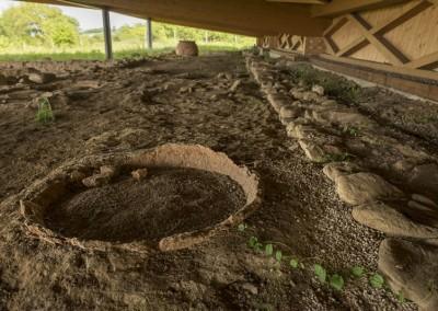San Giustino - colle plinio dettaglio scavi