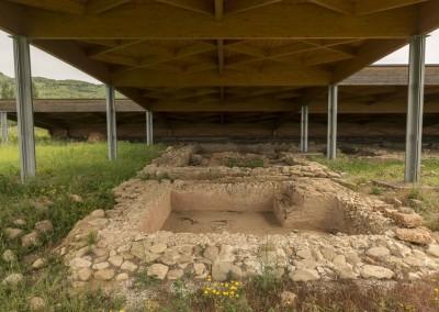 San Giustino - colle plinio struttura scavi