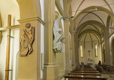 San Giustino - interno chiesa arcipretale