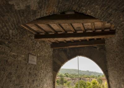 San Giustino - interno porta celalba