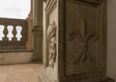 San Giustino - villa magherini graziani dettagli