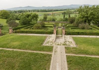 San Giustino - villa magherini graziani giardino