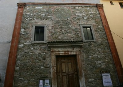 Scheggia e Pascelupo - Chiesa SS Filippo Giacomo a