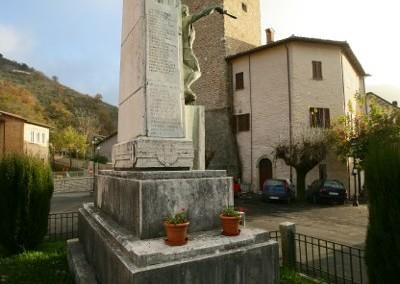 Scheggia e Pascelupo - Monumento Caduti